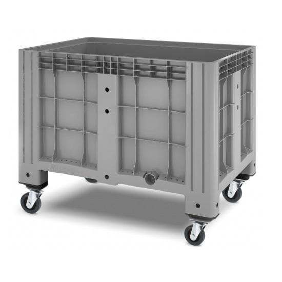 Сплошной контейнер iBox на колесах (1200х800)