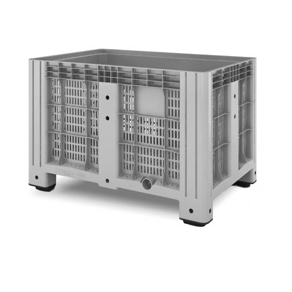 Перфорированный контейнер iBox на ножках (1200х800)