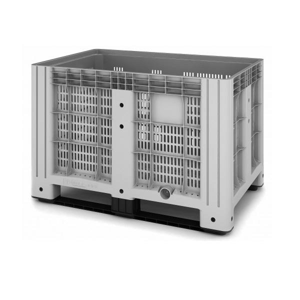 Перфорированный контейнер iBox на полозьях (1200х800)