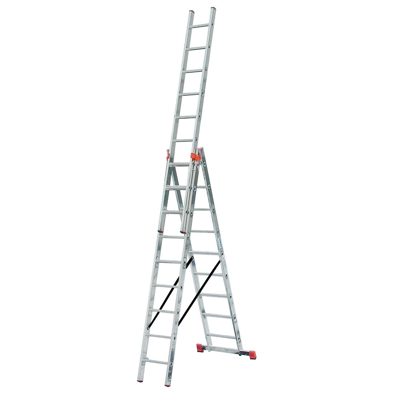 Трехсекционная лестница Tribilo (MONTO)