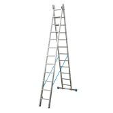 Универсальная двухсекционная лестница