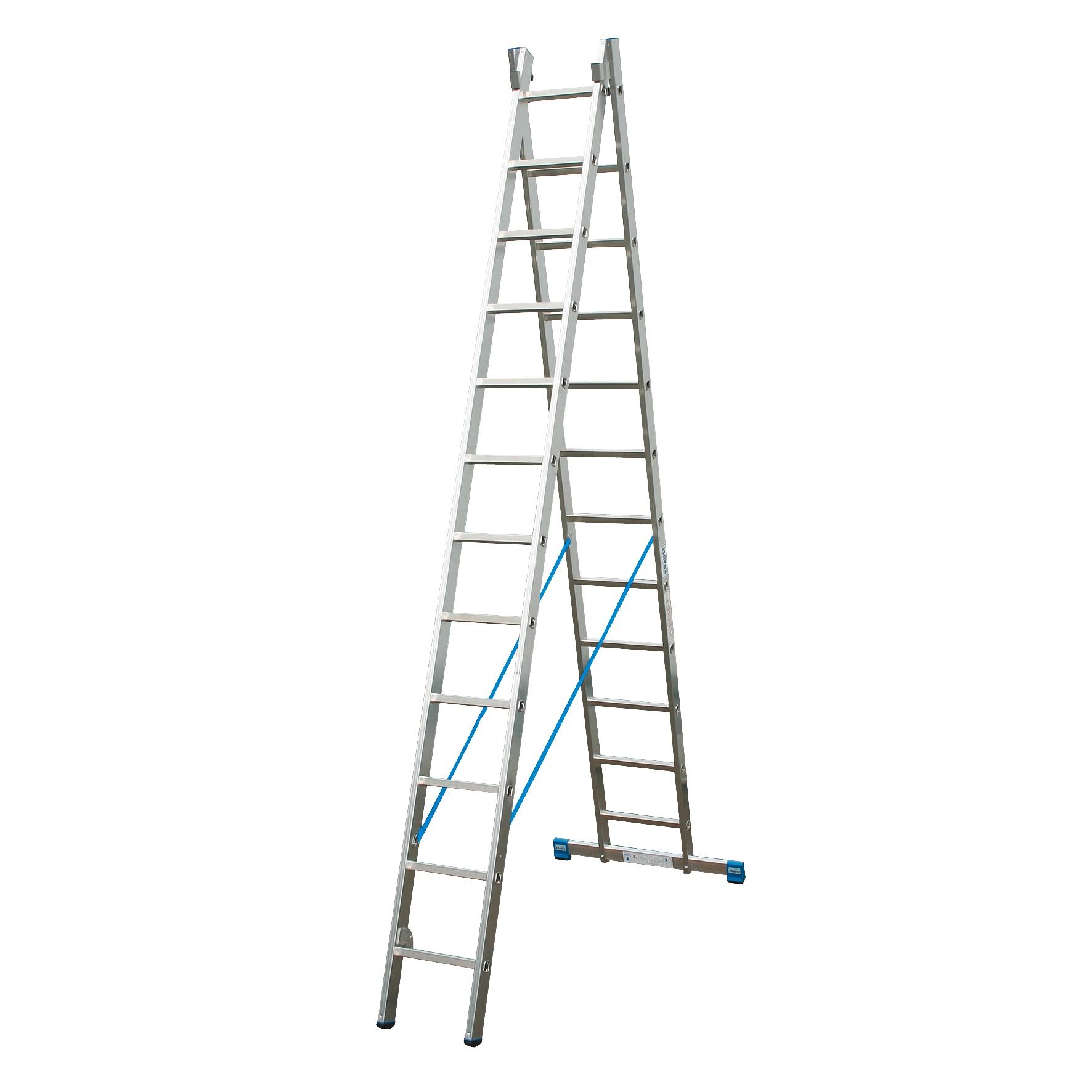 Двухсекционная лестница STABILO