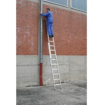 Двухсекционная приставная лестница