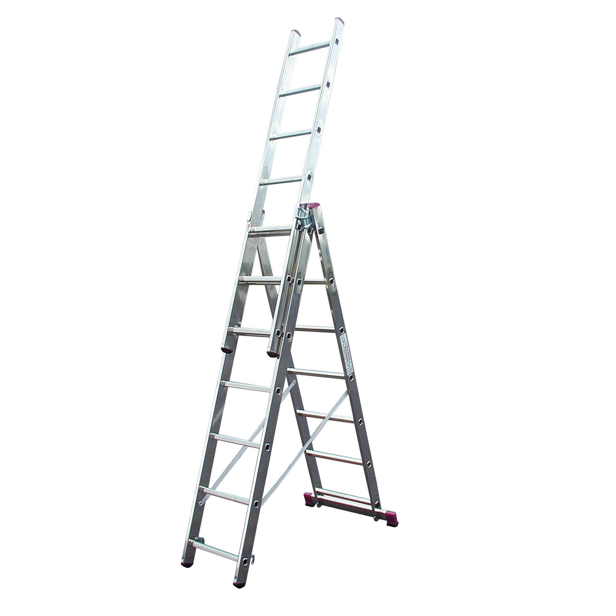 Трехсекционная лестница (CORDA)