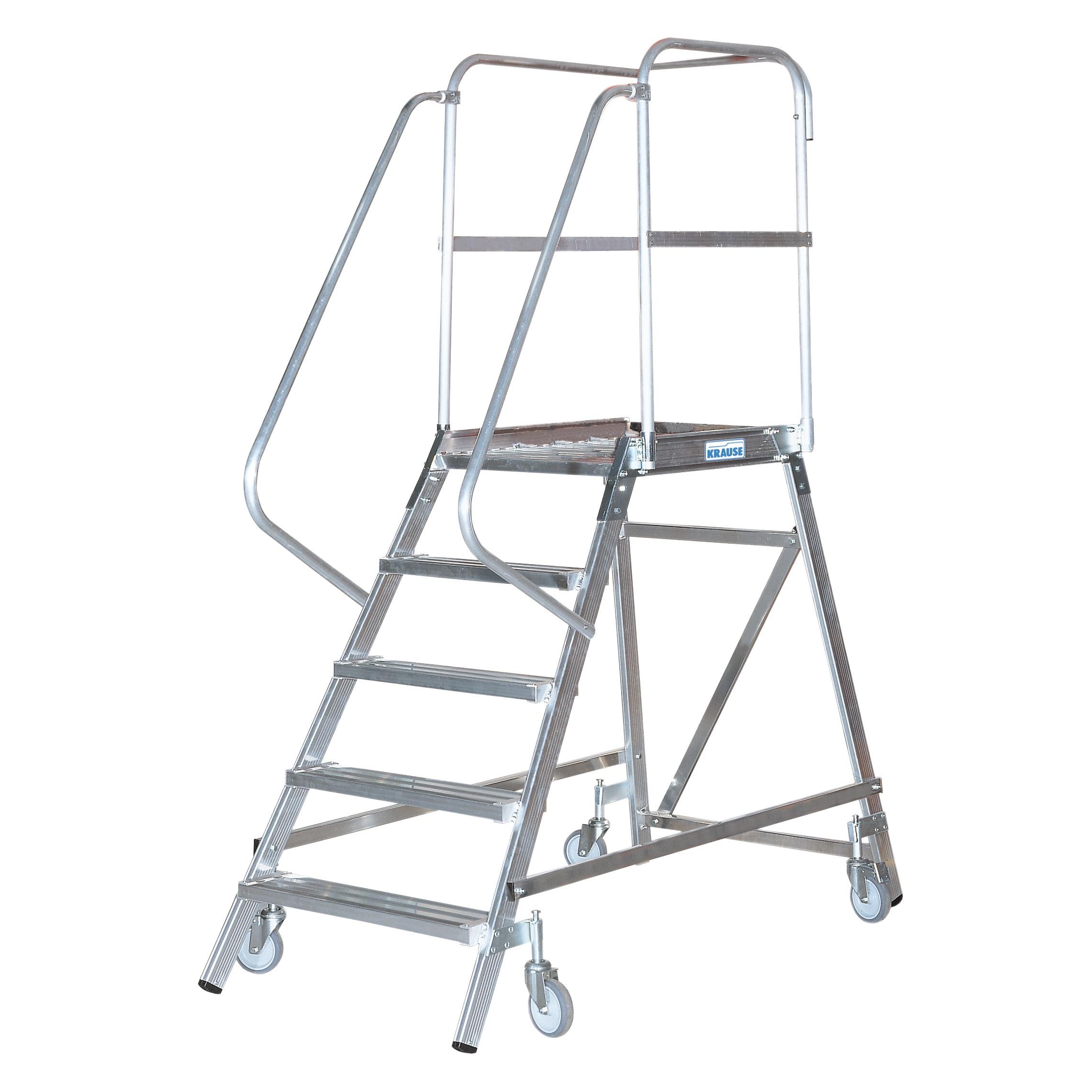 Односторонняя лестница с платформой (STABILO)