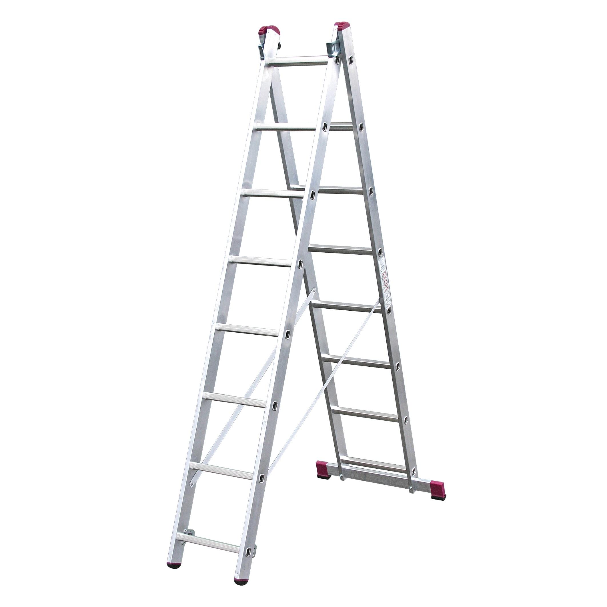 Двухсекционная лестница CORDA