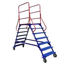 ЛР-6.2 Лестница с площадкой двухсторонняя