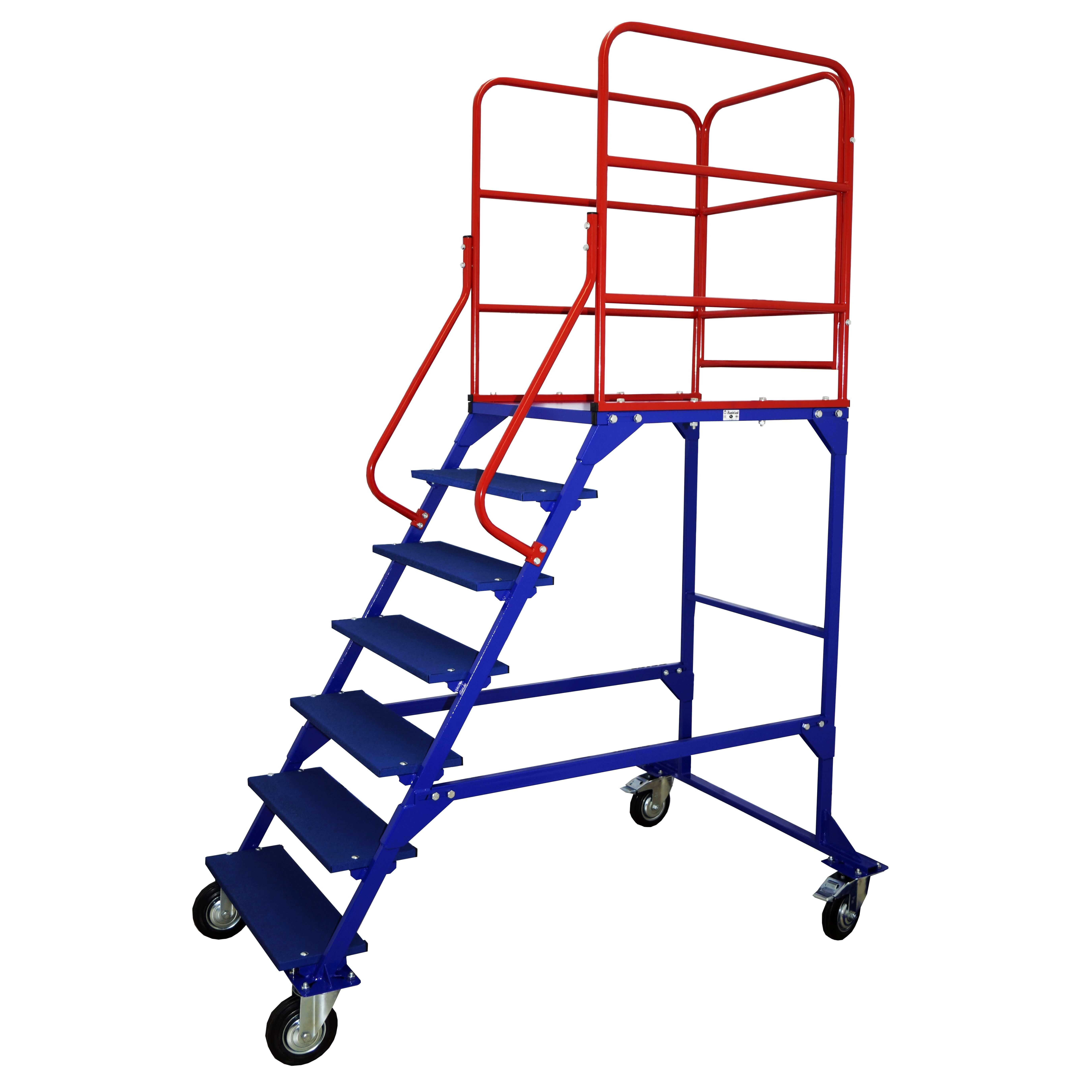 ЛР-6.1 Лестница с площадкой односторонняя