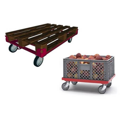 Тележки для транспортировки тары