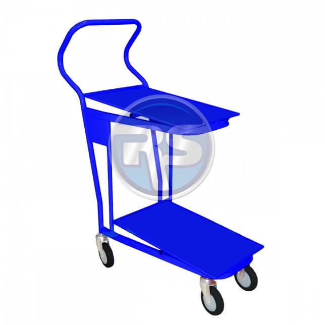 ТПДЯ Тележка для перевозки пластиковых ящиков