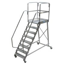 Односторонняя лестница с площадкой