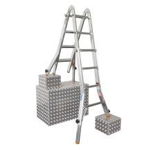 Телескопическая лестница c удлинителями боковин TeleVario