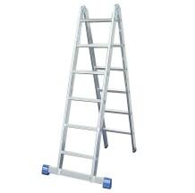 Двухсекционная шарнирная лестница