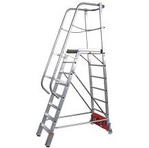 Лестница с платформой Vario kompakt